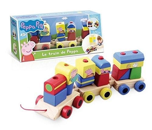 Peppa Pig - El tren del abuelo en madera