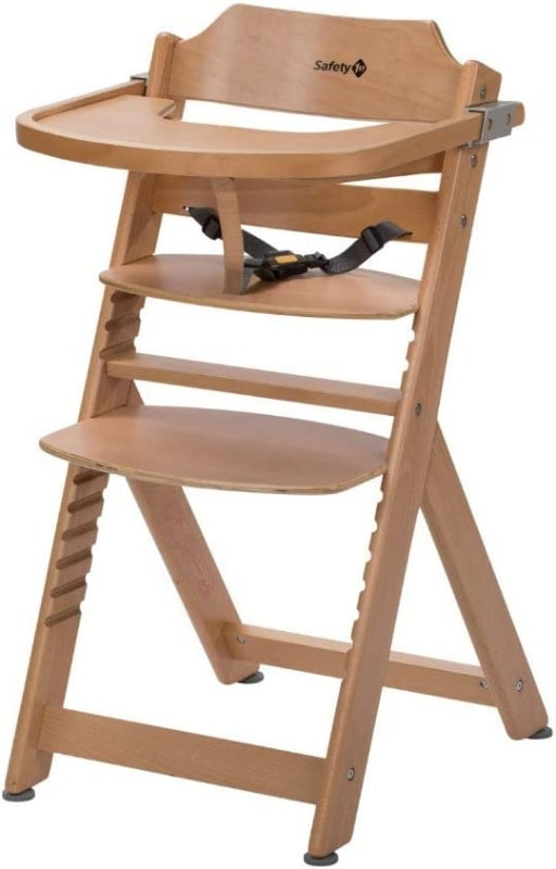 Safety 1st Timba Trona de madera con bandeja