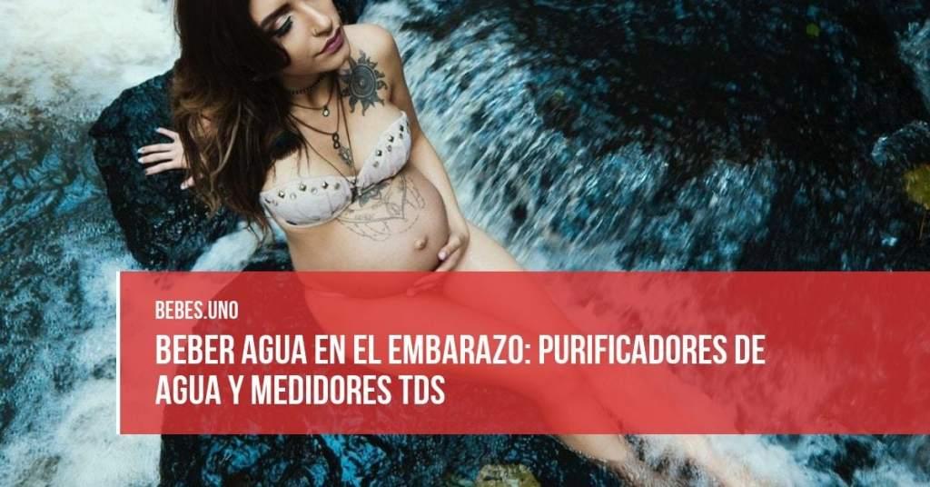 Beber agua en el embarazo: purificadores de agua y medidores TDS