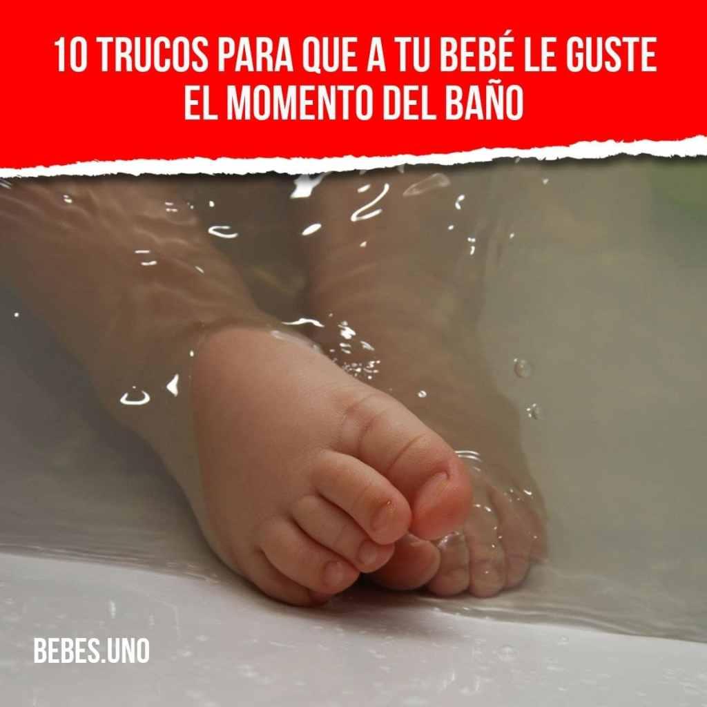 ¿Qué puedes hacer para que tu bebé o recién nacido disfrute del baño y no le asuste el agua?