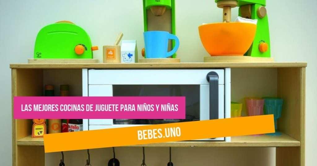 Las mejores cocinas de juguete para niños y niñas