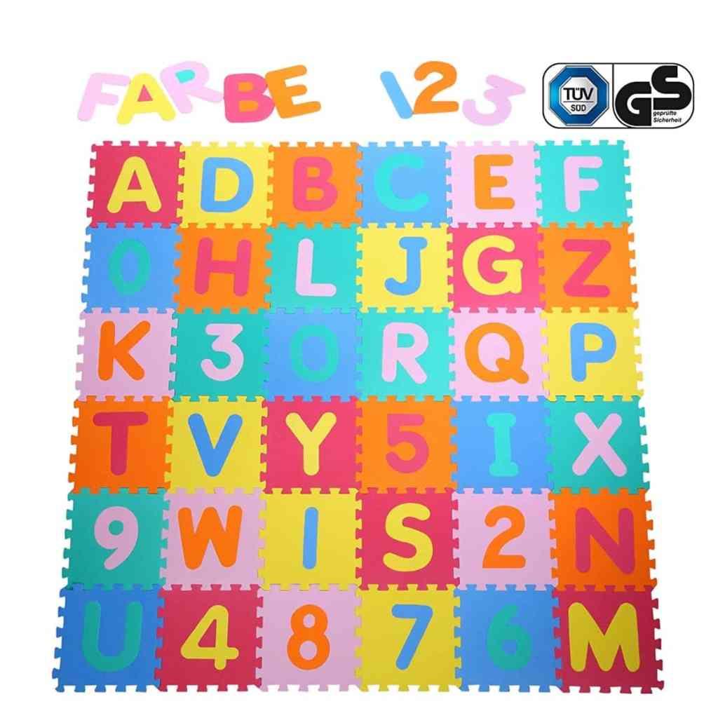 Alfombra puzzle para niños y bebés de Yorbay