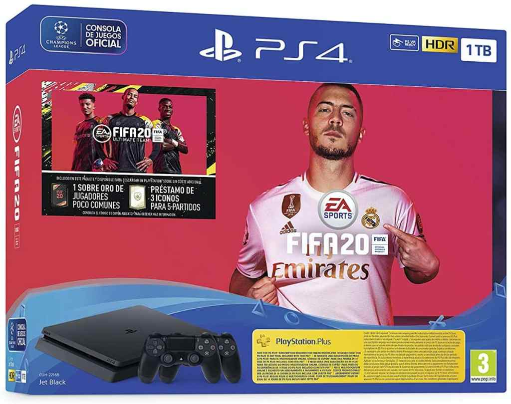 PlayStation 4 (PS4) + FIFA 20