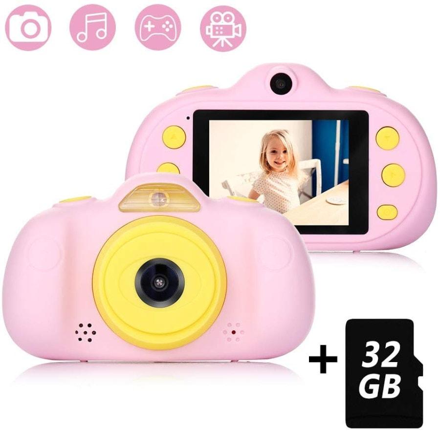 Cámara para Niños con Tarjeta TF 32GB