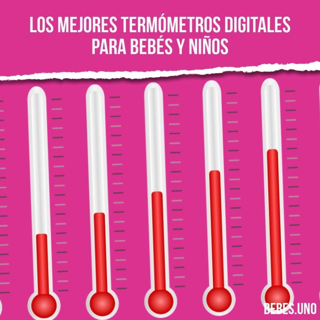 Los mejores termómetros digitales para bebés y niños