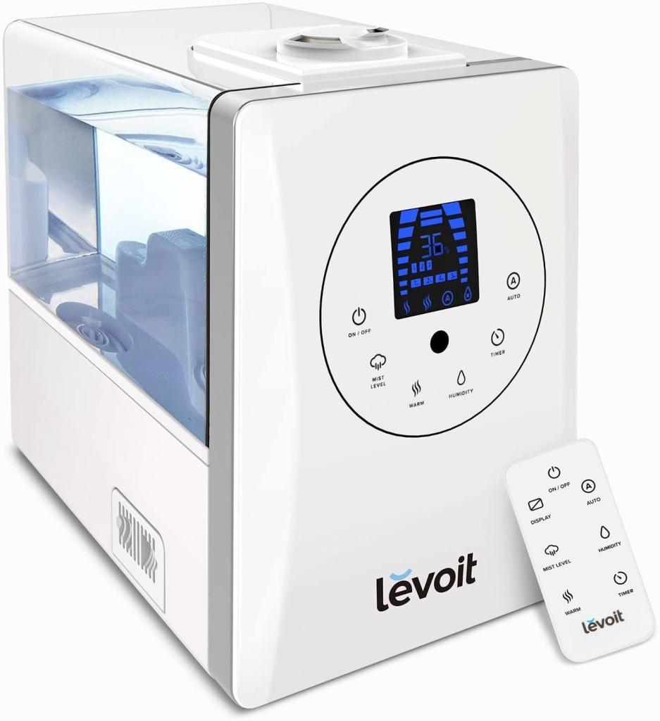 Levoit - Humidificador ultrasónico para bebé de vapor caliente y frío