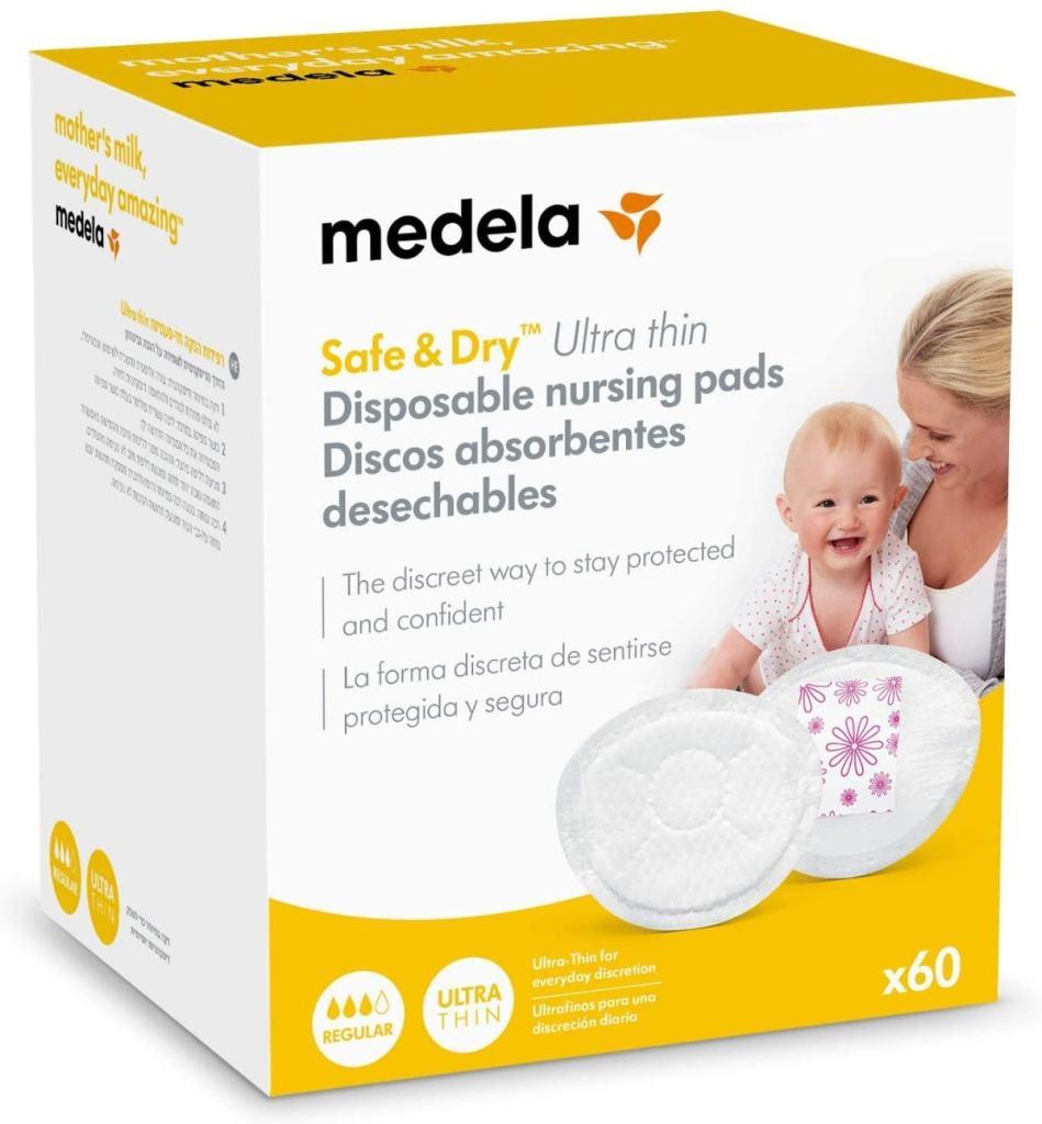 Discos absorbentes desechables para lactancia de Medela