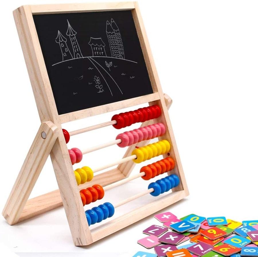 Ábaco infantil Montessori de madera de jerryvon