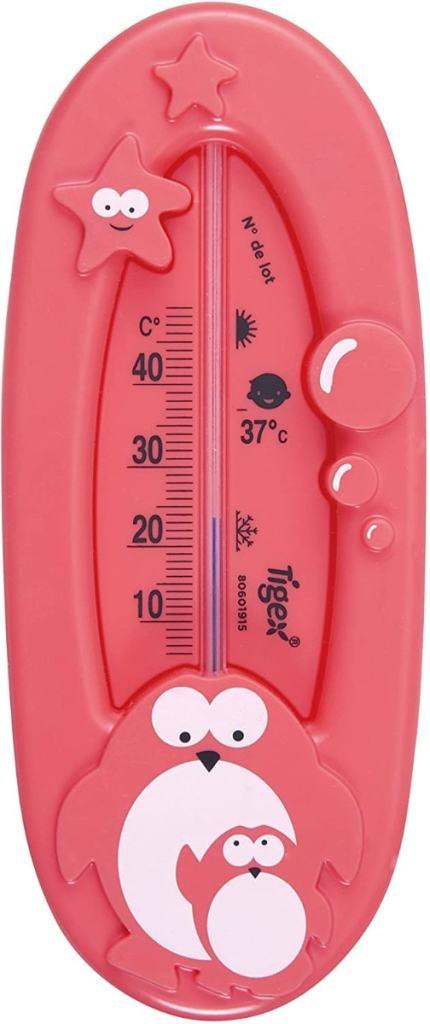 Tigex Termómetro de baño | Termómetro bebe | Diseño pingüino