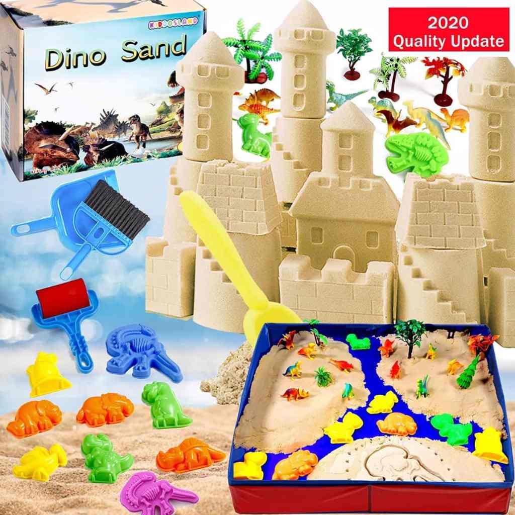 Arena Mágica de KiddosLand de 1,36kg con moldes y arenero