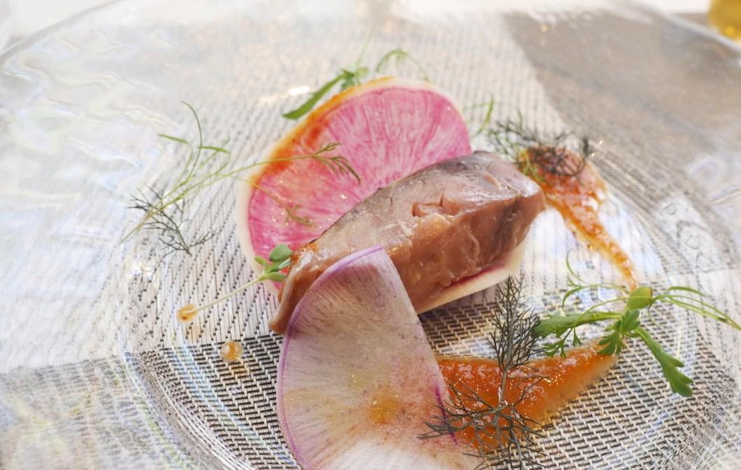 北越谷のイタリアン リストランテレナータのランチ「魚料理」