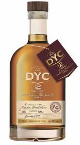 DYC 12 Whisky Colección Maestros
