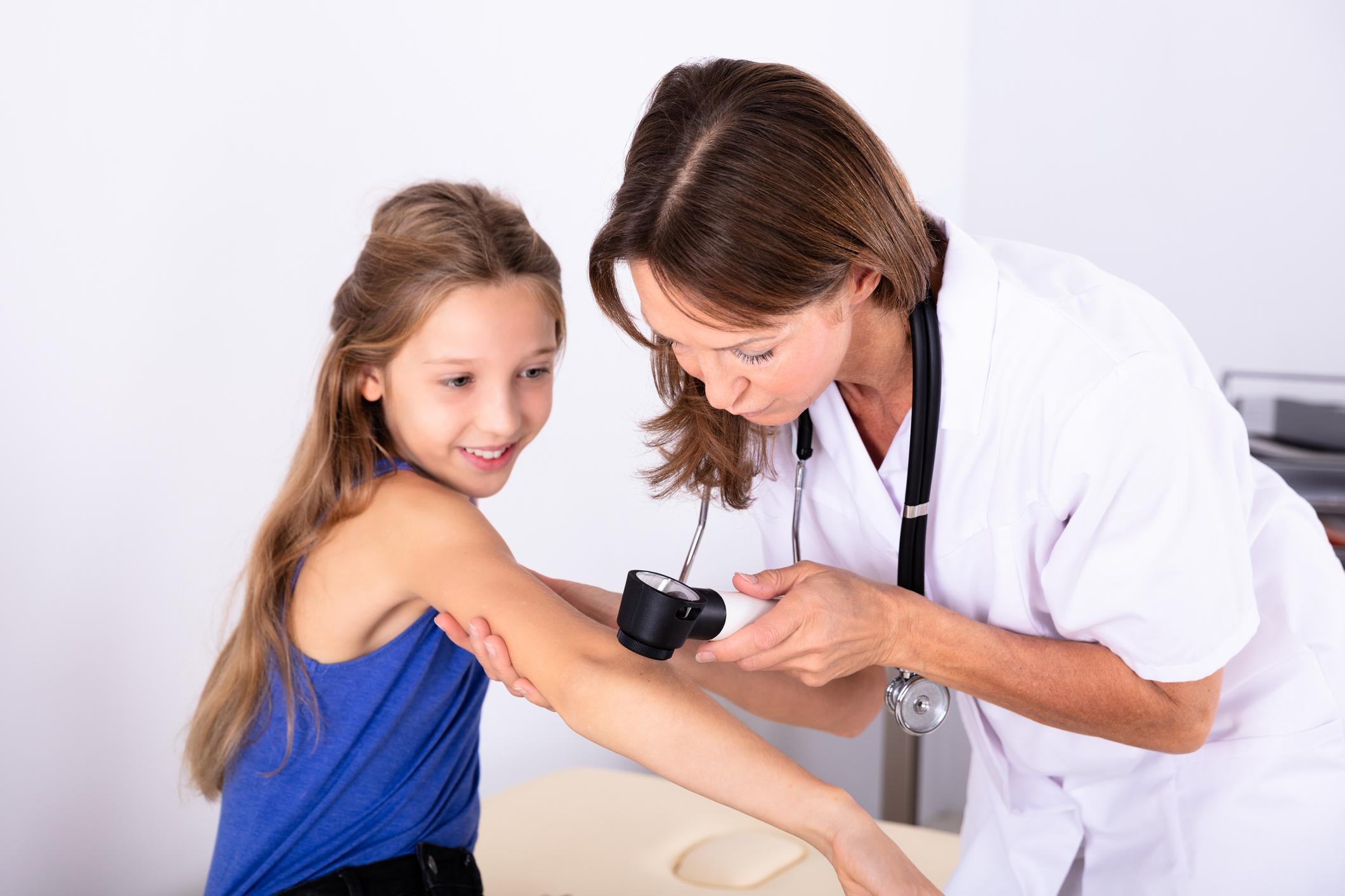 A bőrrák felismerését vizsgáló kérdőív gyerekeknek