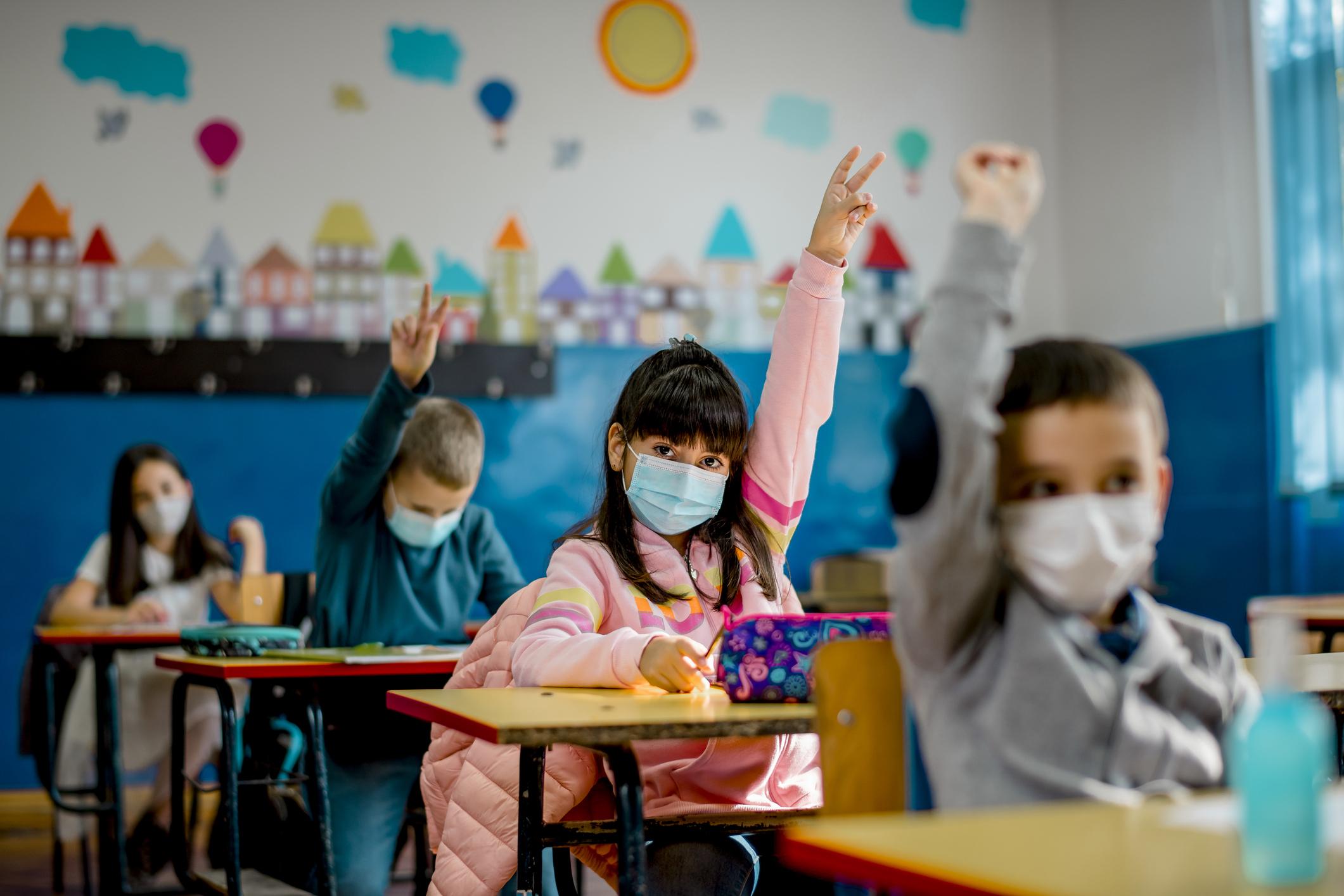 A gyerekek keveset vagy semmit nem tanultak az iskolák bezárása idején