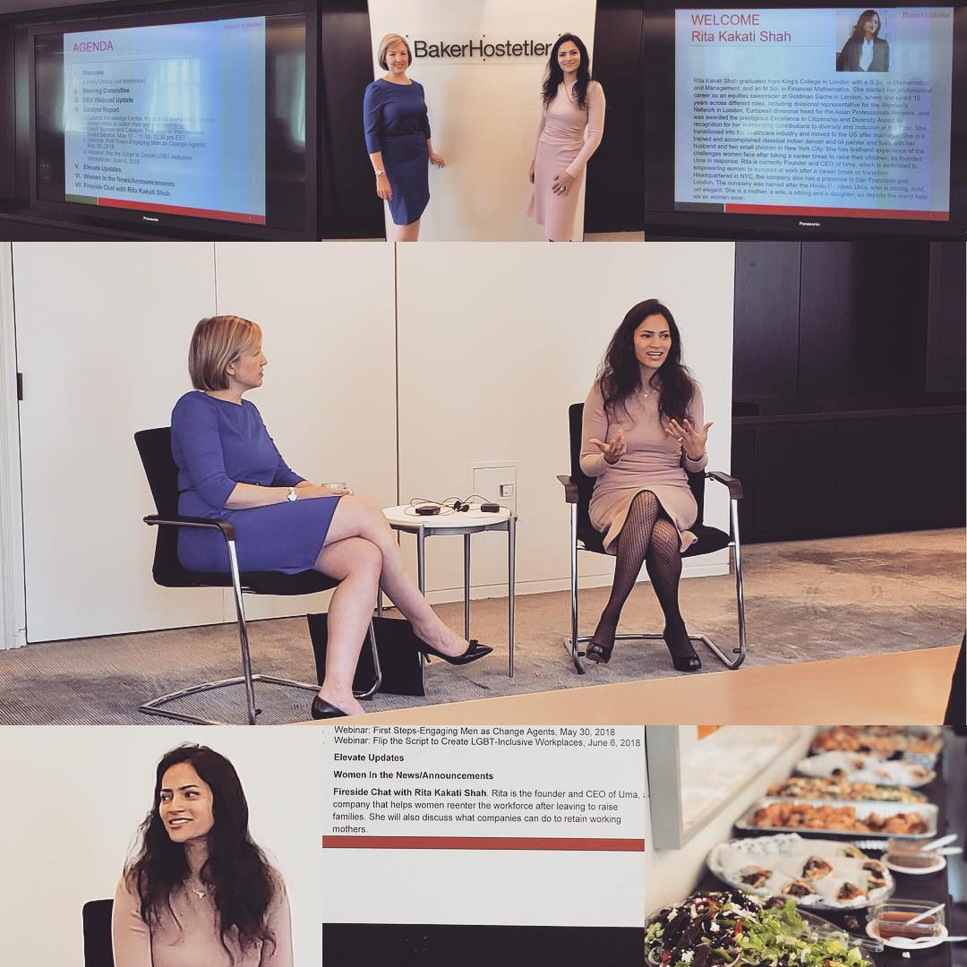May 1, 2018: New York, USA | Baker Hostetler | Keynote on Successful Career Progression for Women in Law