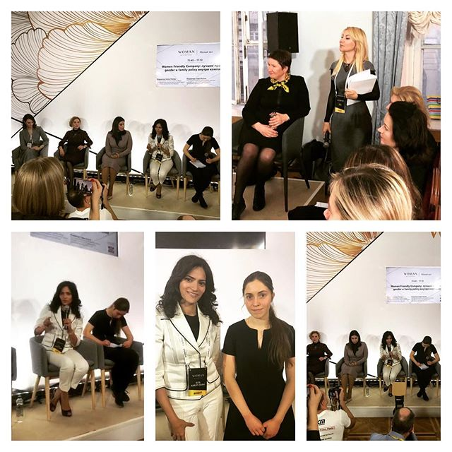 November 16, 2018: Moscow, Russia | Woman Who Matters Forum | Panel Discussion on Diversity and Inclusion at Family Friendly Companies
