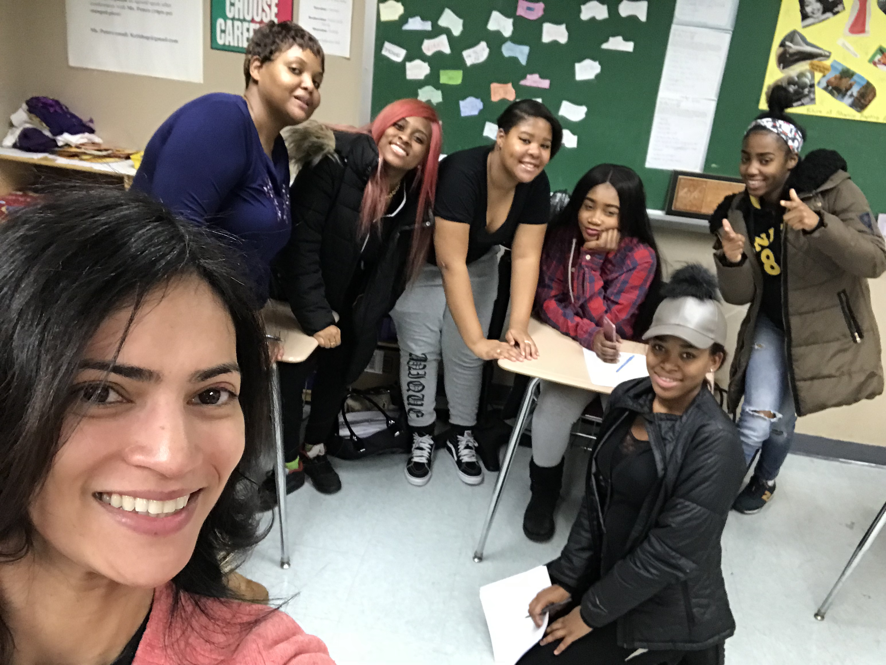 January 16, 2018: New York, USA | Brownsville Academy High School | Leadership Courses for High School Girls