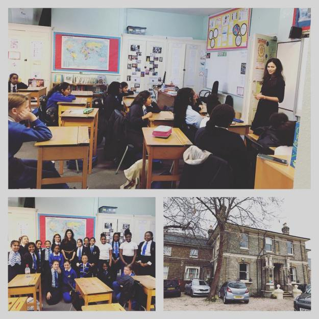 March 8, 2019, London, UK | IWD | Motivational Talk to Form V and VI School Girls | Gidea Park College