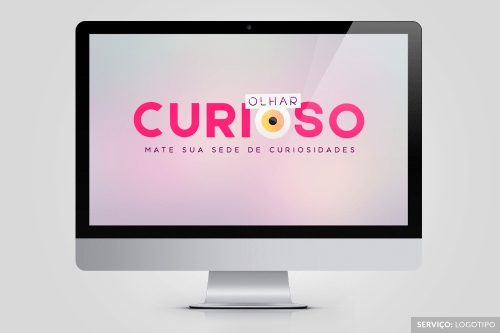 Olhar Curioso (Logotipo)