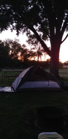 My easy and comfortable two person backpacking tent.