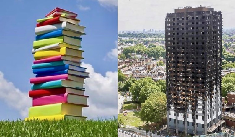 Free children's books for Grenfell Tower Fund donation