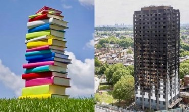 books and buildings