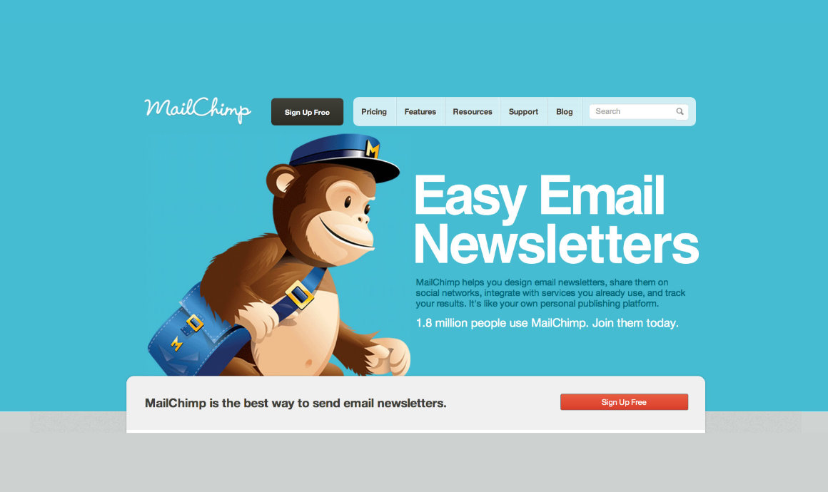 MailChimp-Newsletter