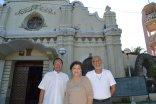 Louella with our pastors