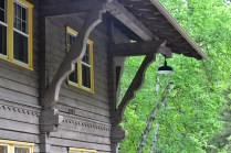 Details at the Swiss Chalet