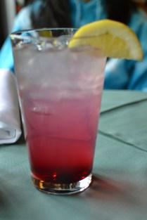 Mia's huckleberry lemonade