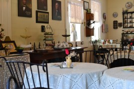 Inside the dining room