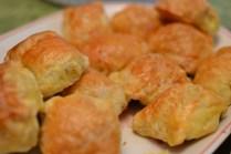 Homemade Filipino pastry - hopia