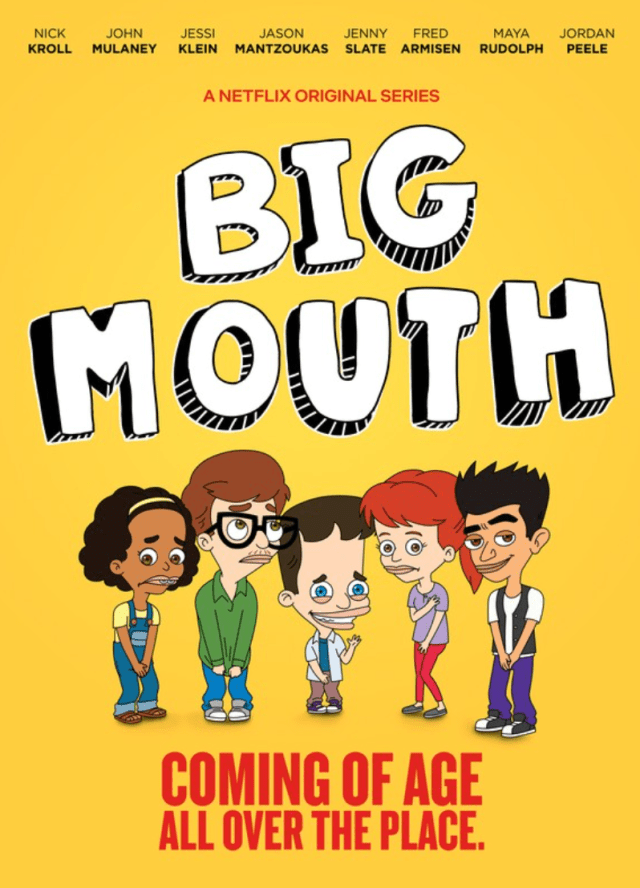 poster of netflix series big mouth