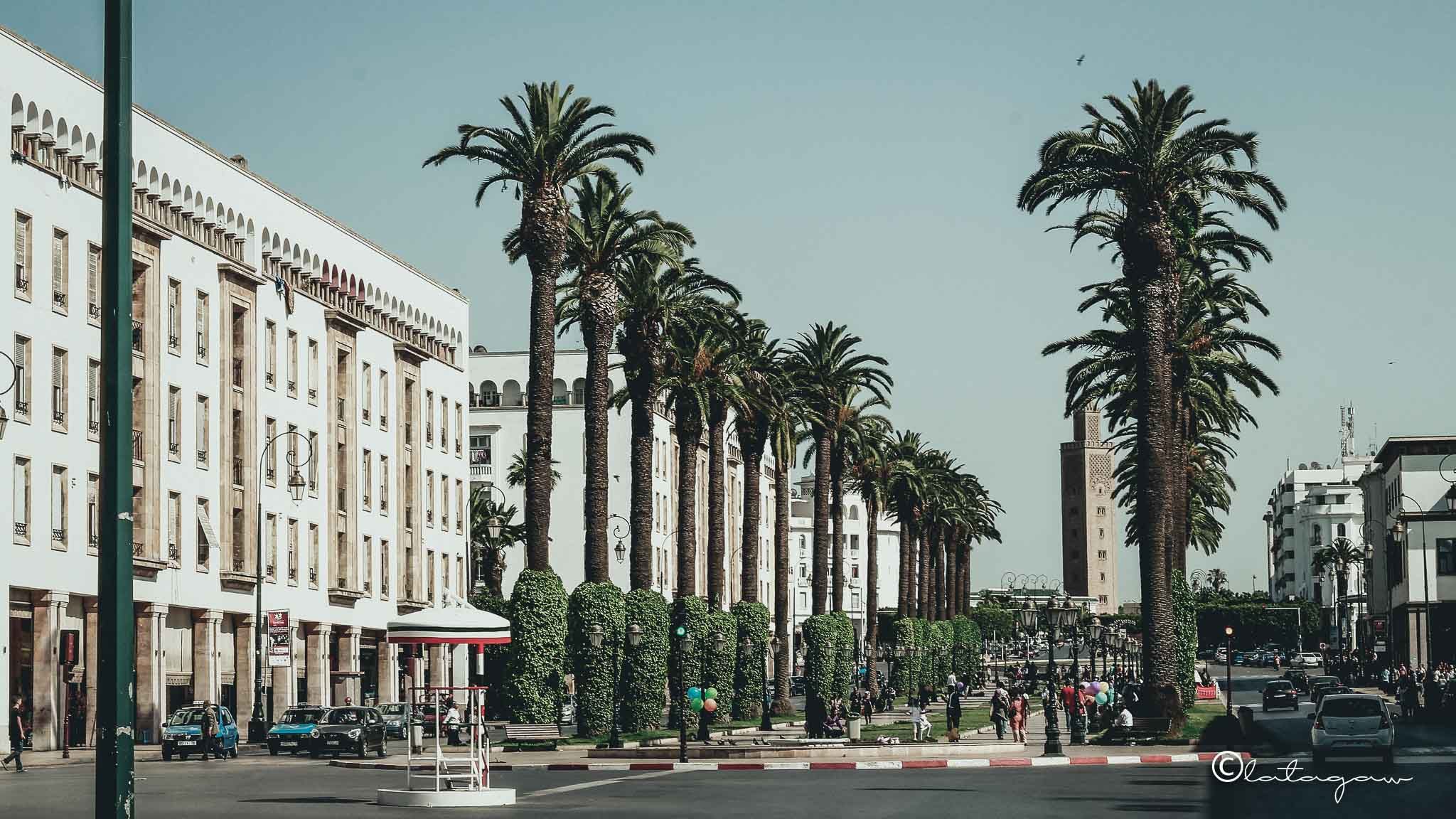 city center park rabat morocco