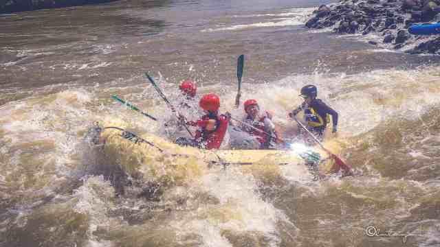 White river rafting in Cagayan de Oro