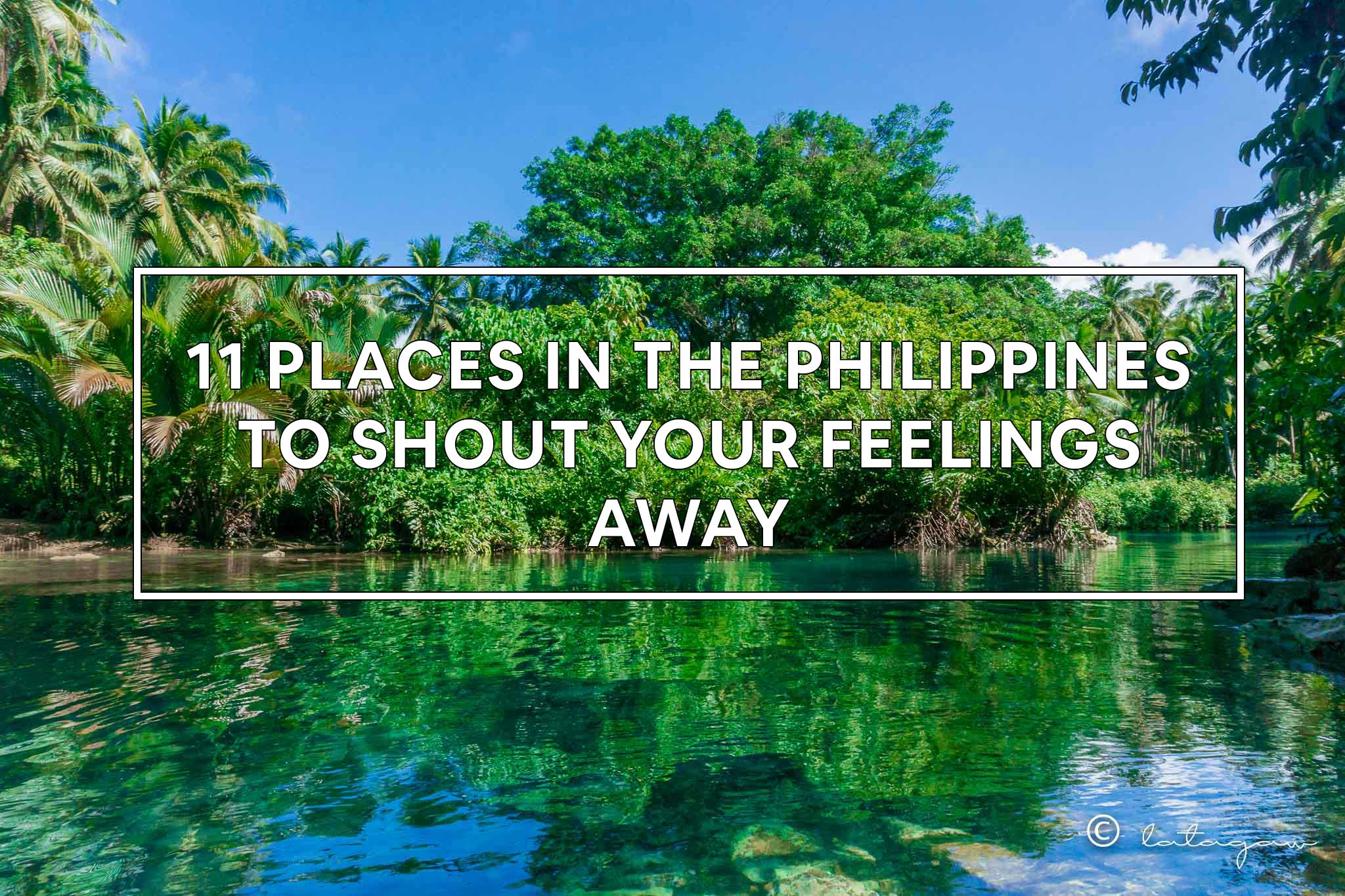 11 places to go to in the philippines