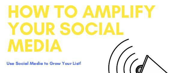 How to amplify your social media strategy