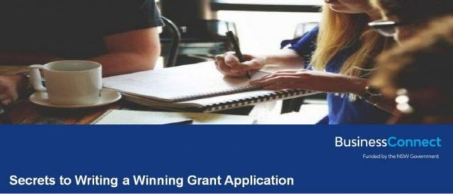 Secrets to Writing a Winning Grant Application -  Wagga Wagga