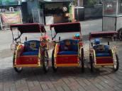 becak mini, mini dan supermini