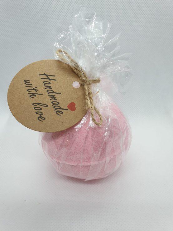 pink bath bomb