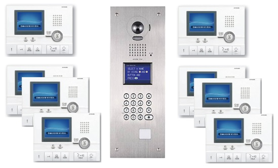 Aiphone GT Series Video Entry Intercom System