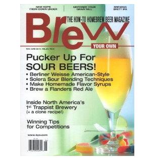 BYO magazine Cover