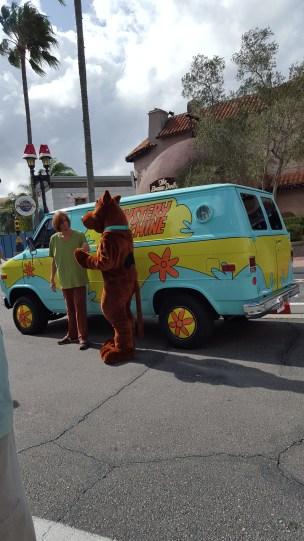 Scooby Doo at Universal Studios Theme Park in Orlando, Florida, USA.