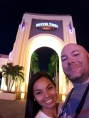 At Universal Studio Theme Park in Orlando, Florida in November 2015.