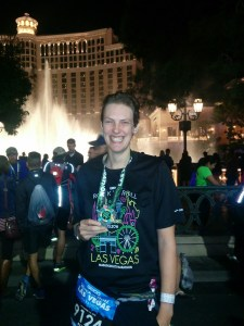 Las Vegas Marathon Finish, Bellagio