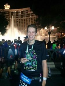 Las Vegas Marathon Finish, Bellagio