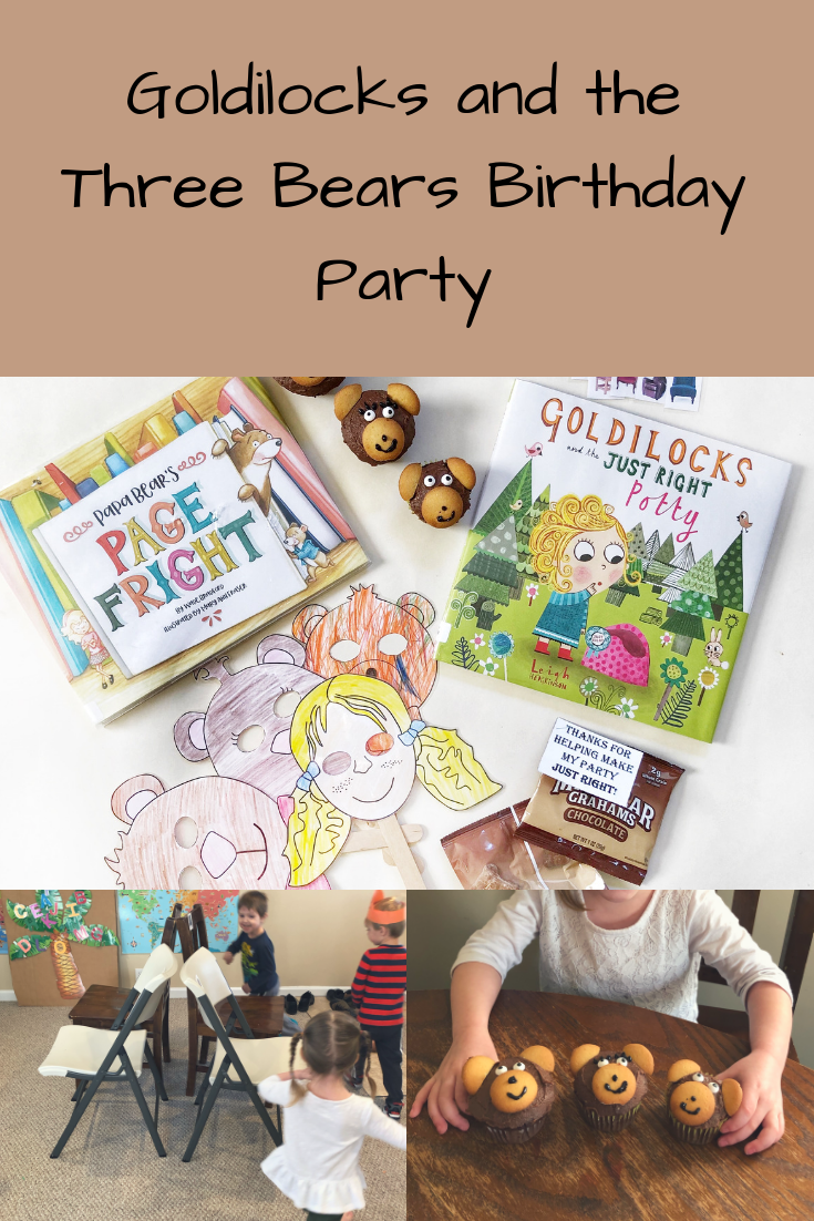 Goldilocks and the Three Bears Birthday Party