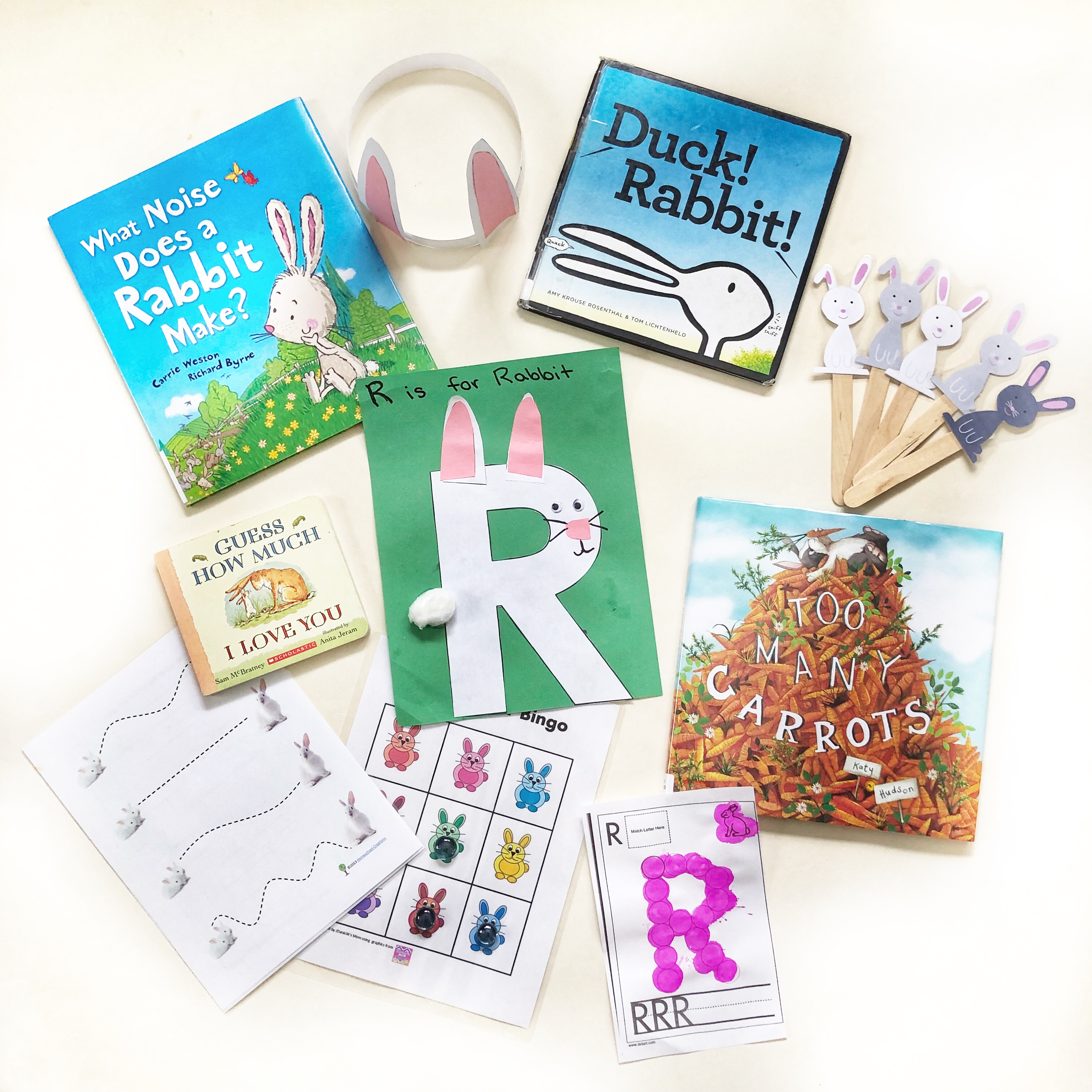 R is for Rabbit Lesson