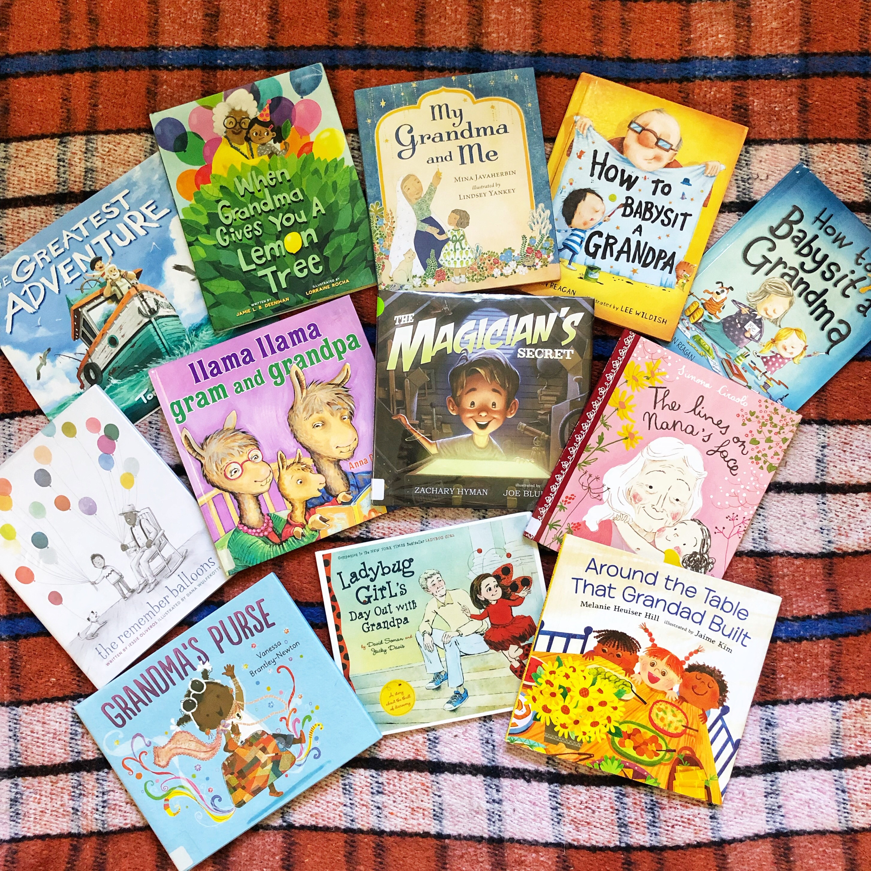 Picture Books About Grandparents