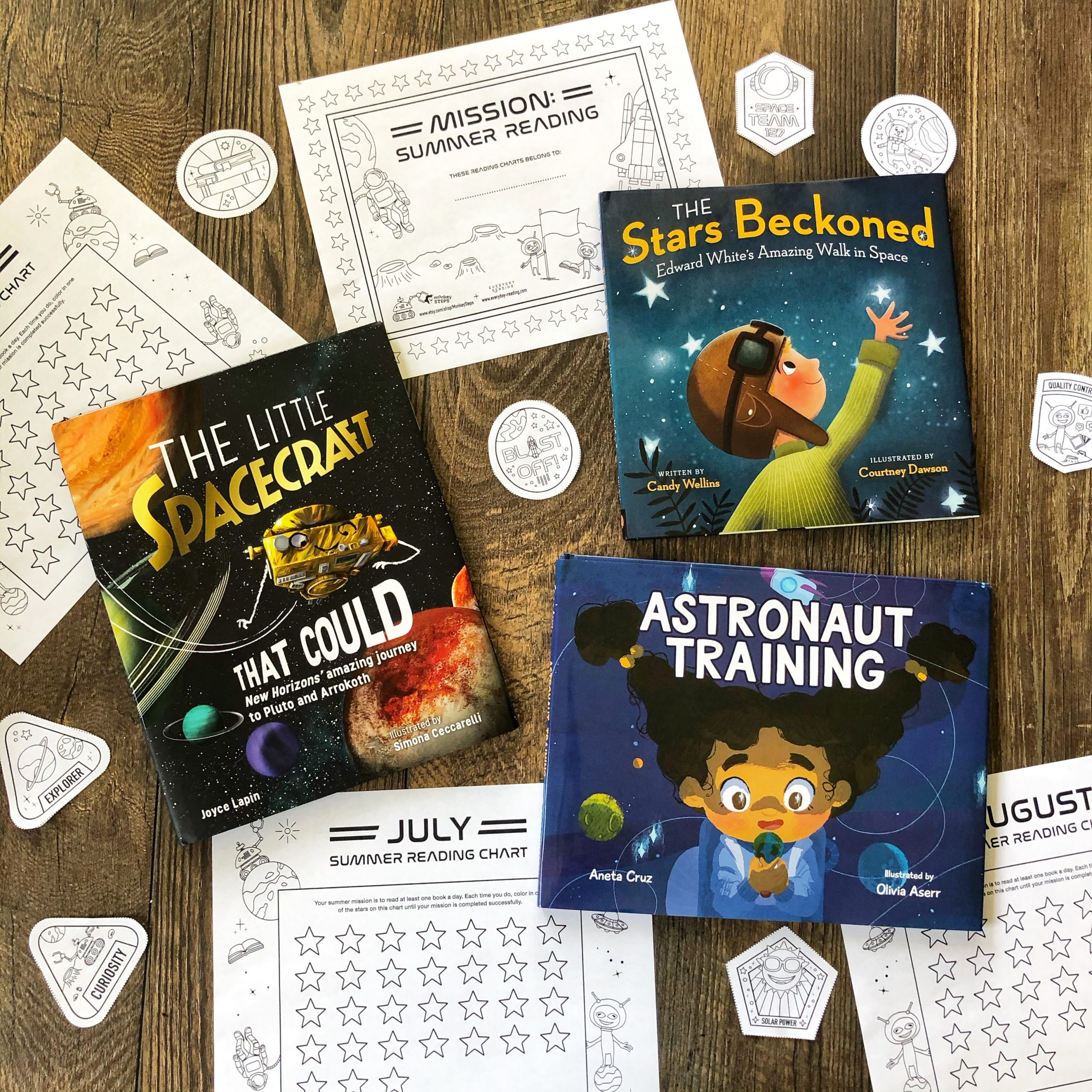 Space Themed Picture Books
